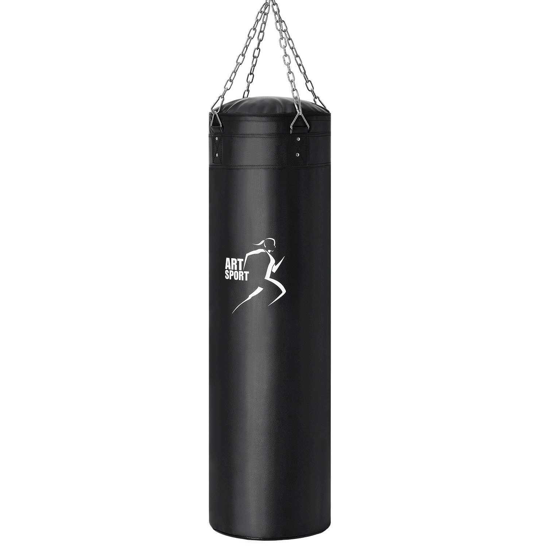Eshopist Boxovací pytel 30 kg se 4 bodovou upevňovacím řetězem a s háky na zavěšení