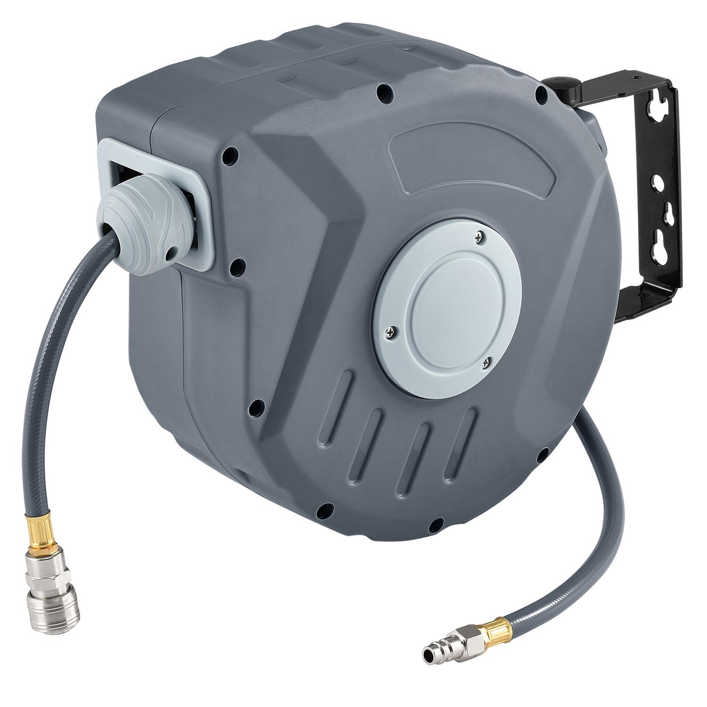 Eshopist Kompresor na vzduch s automatickým tlakem 3/8 a 10m hadicí s možností montáže na stěnu