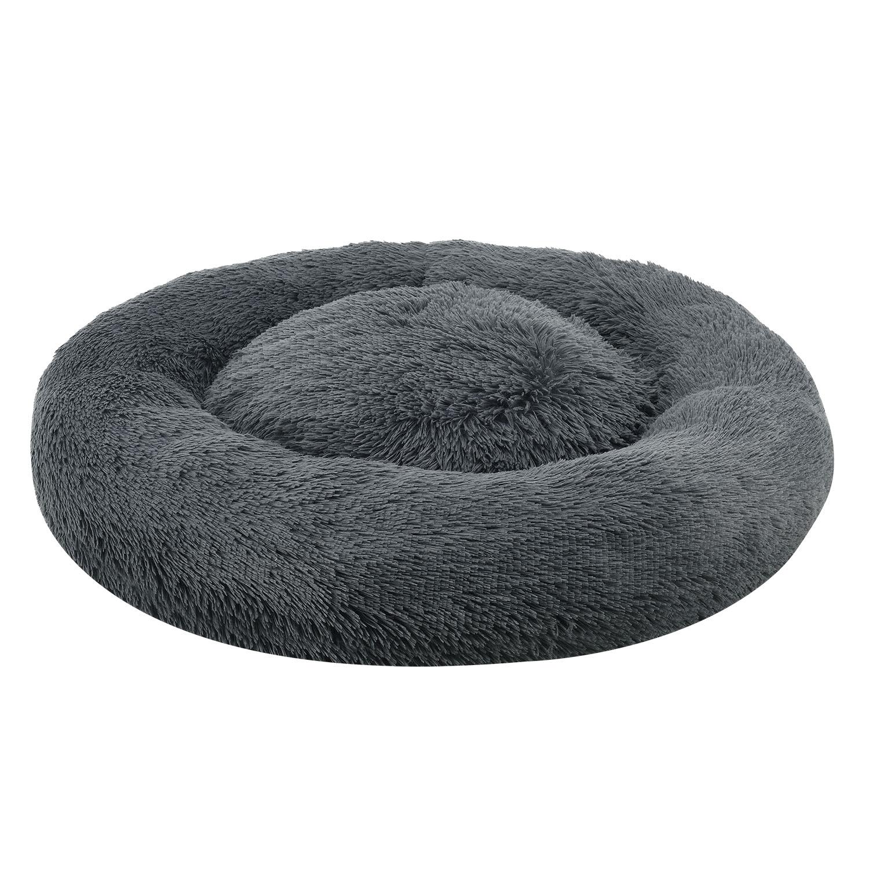 Pelech Monty kulatý 70 cm tmavě šedá