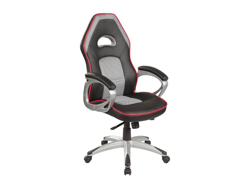 Eshopist Kancelářská židle Q-055 černá/šedá