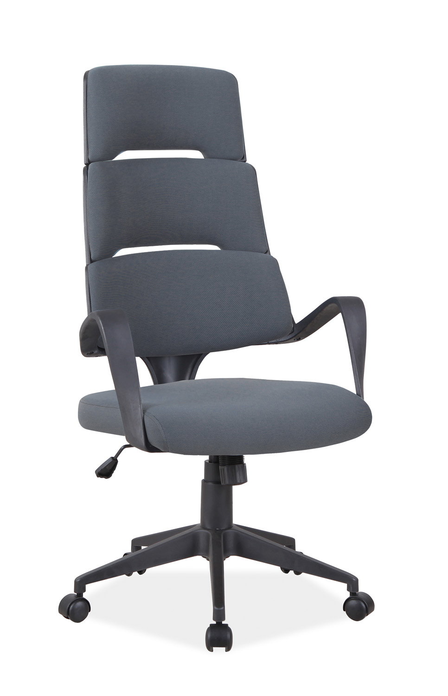 Eshopist Kancelářská židle Q-889 sivý materiál/čierny rám