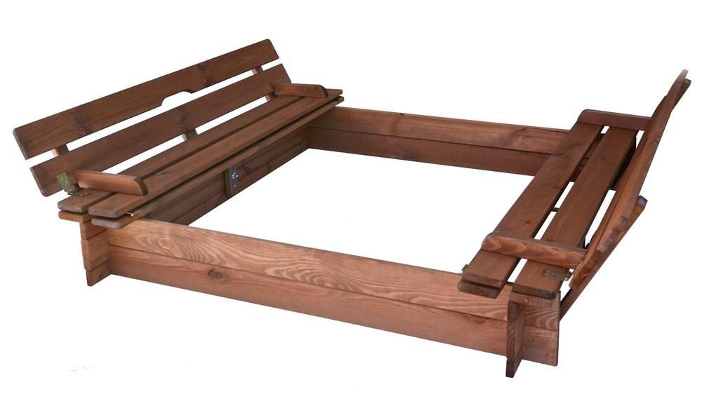 Rojaplast Pískoviště s lavičkami