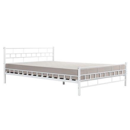 """Kovová postel,, Malta """"180 x 200 cm - bílá"""